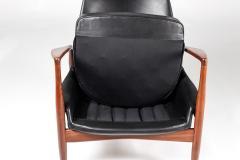 Ib Kofod Larsen Mid Century Scandinavian Lounge Chair Seal Chair by Ib Kofod Larsen - 851083