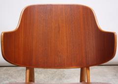 Ib Kofod Larsen Pair of Danish Sculptural Shell Chairs by Ib Kofod Larsen in Teak and Beech - 877627