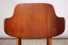 Ib Kofod Larsen Pair of Danish Sculptural Shell Chairs by Ib Kofod Larsen in Teak and Beech - 877628