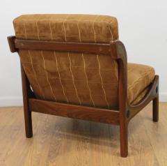 Ib Kofod Larsen Pair of Ib Kofod Larsen Wenge Lounge Chairs for the Megiddo Collection - 673728