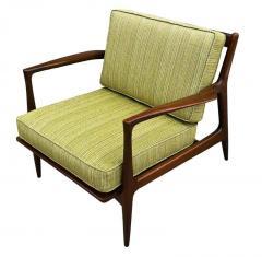 Ib Kofod Larsen Pair of Mid Century Danish Modern IB Kofod Larsen Lounge Chairs in Walnut - 2059037
