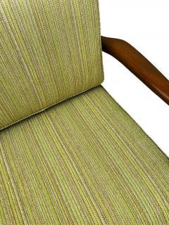 Ib Kofod Larsen Pair of Mid Century Danish Modern IB Kofod Larsen Lounge Chairs in Walnut - 2059046