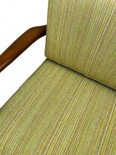 Ib Kofod Larsen Pair of Mid Century Danish Modern IB Kofod Larsen Lounge Chairs in Walnut - 2059049