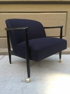 Ib Kofod Larsen Pair of Sculptural Ib Kofod Larsen Lounge Chairs - 1330929