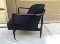 Ib Kofod Larsen Pair of Sculptural Ib Kofod Larsen Lounge Chairs - 1330930