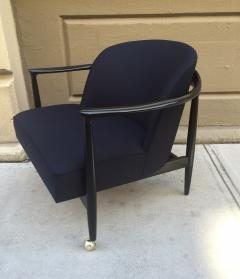Ib Kofod Larsen Pair of Sculptural Ib Kofod Larsen Lounge Chairs - 1330931