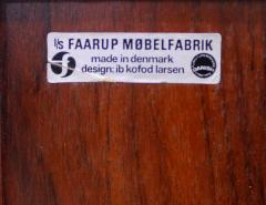 Ib Kofod Larsen Rare Danish Modern Rosewood Console Server Designed by Ib Kofod Larsen - 306704