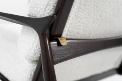 Ib Kofod Larsen Scandinavian Modern Lounge Chairs by Ib Kofod Larsen C 1950s - 1582940