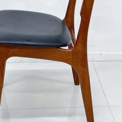 Ib Kofod Larsen Scandinavian Set of Six Teak Dining Chairs Kofod Larsen Denmark 1960s Modern - 1995961
