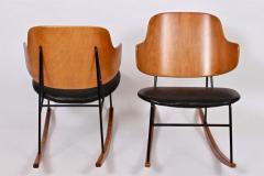 Ib Kofod Larsen Single Ib Kofod Larsen for Selig Penguin Rocking Chair 1950s - 1572240