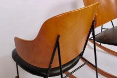 Ib Kofod Larsen Single Ib Kofod Larsen for Selig Penguin Rocking Chair 1950s - 1572241