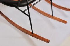 Ib Kofod Larsen Single Ib Kofod Larsen for Selig Penguin Rocking Chair 1950s - 1572245