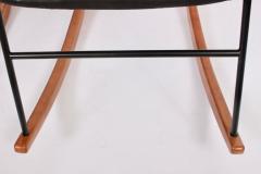 Ib Kofod Larsen Single Ib Kofod Larsen for Selig Penguin Rocking Chair 1950s - 1572246