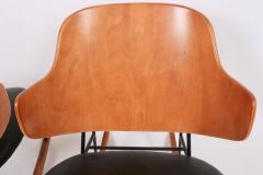 Ib Kofod Larsen Single Ib Kofod Larsen for Selig Penguin Rocking Chair 1950s - 1572248