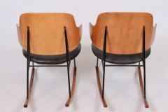 Ib Kofod Larsen Single Ib Kofod Larsen for Selig Penguin Rocking Chair 1950s - 1572249