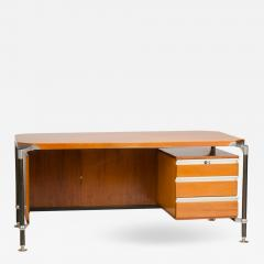 Ico Parisi An Italian Ico Parisi veenered walnut writing desk circa 1960 - 1698284