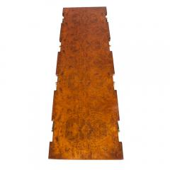 Ico Parisi Burl Walnut and Brass 1950s Coffee Table by Ico Parisi for Singer and Sons - 480832