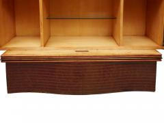 Ico Parisi Cabinet Bar in parchment and wood by Ico Parisi for Daghia circa 1940 - 969807