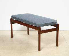 Ico Parisi Custom Upholstered Bench by Ico Parisi - 1045441