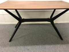 Ico Parisi Exciting Ico Parisi Style Sculpted X Base Dining Table Mid Century Modern - 1444731
