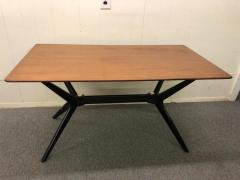 Ico Parisi Exciting Ico Parisi Style Sculpted X Base Dining Table Mid Century Modern - 1444748