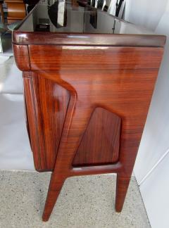 Ico Parisi Fine Italian Modern Palisander Five Door Credenza Ico Parisi - 1239789