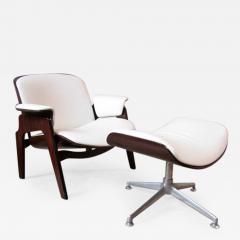 Ico Parisi Ico Parisi Armchair with Swivel Ottoman for M I M  - 520979