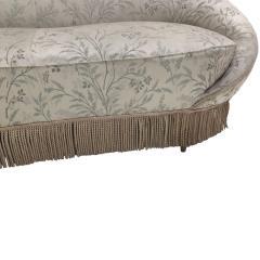 Ico Parisi Ico Parisi Curved Pattern Fabric Sofa Italy 1958 - 845638