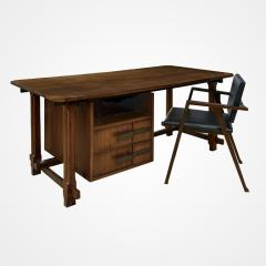 Ico Parisi Ico Parisi Desk Produced at Capiago Intimiano Italy by Fratelli Rizzi 1959 - 213212