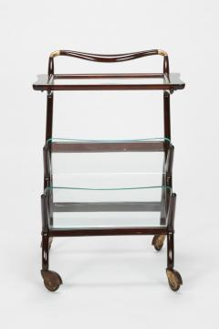 Ico Parisi Ico Parisi bar cart serving trolley 50s - 1692274