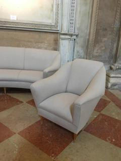 Ico Parisi Ico Parisi for Ariberto colombo Armchairs and Sofa - 1036696