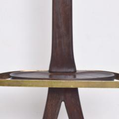 Ico Parisi Ico Parisi for Fratelli Reguitti Sculpted Mahogany Brass Gentlemans Valet - 1775817