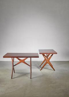 Ico Parisi Ico Parisi pair of tables Italy 1950s - 1005321