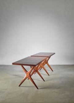 Ico Parisi Ico Parisi pair of tables Italy 1950s - 1005340
