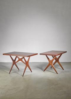 Ico Parisi Ico Parisi pair of tables Italy 1950s - 1005341