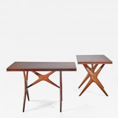Ico Parisi Ico Parisi pair of tables Italy 1950s - 1006297