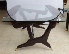 Ico Parisi Italian Modern Glass Top Desk - 106351
