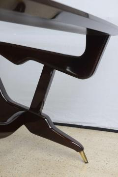 Ico Parisi Italian Modern Glass Top Desk - 106353