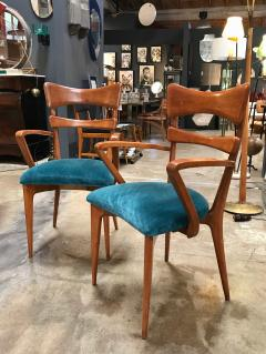 Ico Parisi Italian Pair of Very Rare Ico Parisi Armchairs 1950s - 1133192