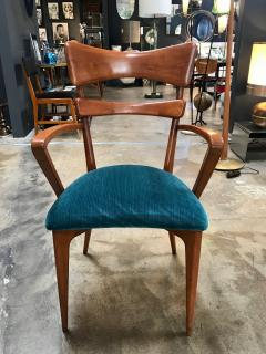 Ico Parisi Italian Pair of Very Rare Ico Parisi Armchairs 1950s - 1133193