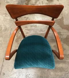 Ico Parisi Italian Pair of Very Rare Ico Parisi Armchairs 1950s - 1133195