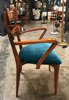 Ico Parisi Italian Pair of Very Rare Ico Parisi Armchairs 1950s - 1133197