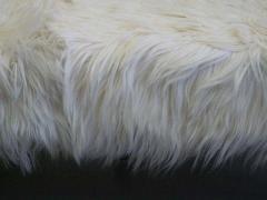 Ico Parisi Large Long Hair Italian Mid Century Modern Style Goatskin Bench Ico Parisi - 1787283