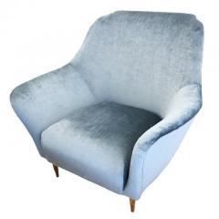 Ico Parisi Pair of Large Armchairs Attributed to Ico Parisi - 1080453