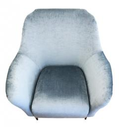 Ico Parisi Pair of Large Armchairs Attributed to Ico Parisi - 1080455