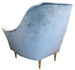 Ico Parisi Pair of Large Armchairs Attributed to Ico Parisi - 1080456