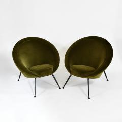 Ico Parisi Pair of egg chairs - 2023664