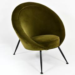 Ico Parisi Pair of egg chairs - 2023680