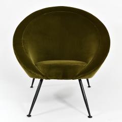 Ico Parisi Pair of egg chairs - 2023689