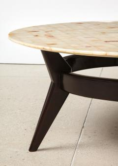 Ico Parisi Rare Circular Cocktail Table by Ico Parisi - 1465005